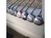 single graphite handle clubs