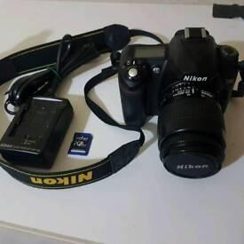 Canon Eos 350d Digital Rebel Xt Eos Kiss Digital N Camera Complete