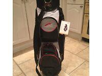 Brand new powakaddy deluxe cart bag.