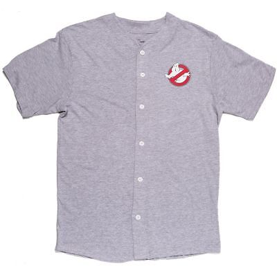 Ghostbusters Button Down Baseball Jersey Loot Crate Exclusive Costume - Baseball Jersey Costume