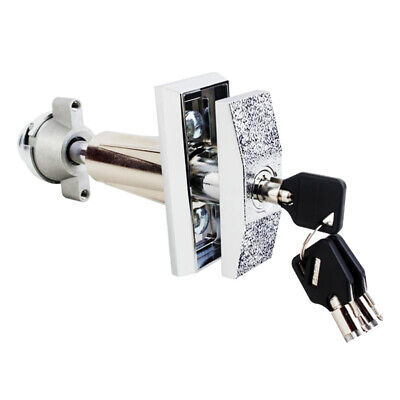 Snack Beverage T Handle Vending Machine Lock Cabinet Plug Lock With 3 Keys