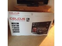 """32"""" CELCUS HD Television- 9 months old"""