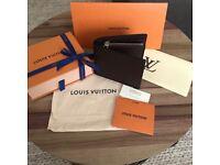 Louis Vuitton Men's Brown Leather Wallet