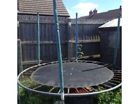 8ft trampoline free to collect