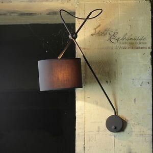 wandlampe stoff wandleuchten ebay. Black Bedroom Furniture Sets. Home Design Ideas