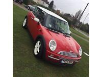 Mini Cooper 2004 1.6 red