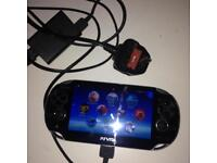 PsVita Wifi with 4 games