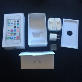 Genuine Apple Retail Packaging + Accessory Bundle for iPhone 5s - NO PHONE!