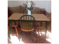 Dining table (there are 3 chairs to match)