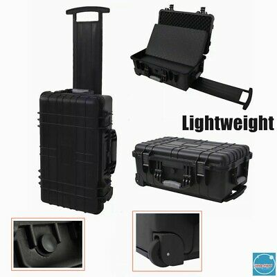 Equipment Tool Storage Box Carry Hard Case Waterproof Dustproof Double Closure