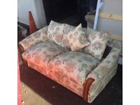 CHEAP QUICK SALE NEEDED..NIce and clean sofa bed couch for sale £10 ono