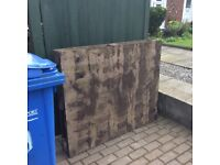 Wooden Pallet available free of charge.