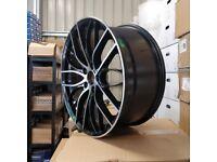 *MASSIVE DISCOUNT*20″ 405M Style Wheels – Gloss Black Machined E90 E91 E92 F10 E46 Z4F30 BMW 5X120