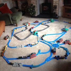 Thomas train and road sets