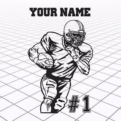 Football Player name sticker  a4e3734a8