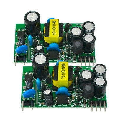 2pcs Ac-dc Dual Output Isolated Power Supply Module 12v5v Output