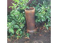 Chimney pots x2 3 ft x 1 ft garden planters etc