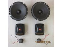 "JBL component 165mm (6 1/2"") car speakers with tweeters"