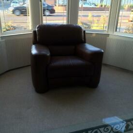ITALIAN LEATHER 3pc Suite EXCELLENT CONDITION