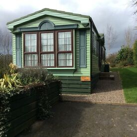 Static caravan holiday home for sale Bridgnorth Shropshire Willerby Vogue