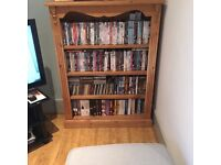 """Pine Bookcase for Sale 47"""" tall, 34"""" wide and 9"""" deep"""