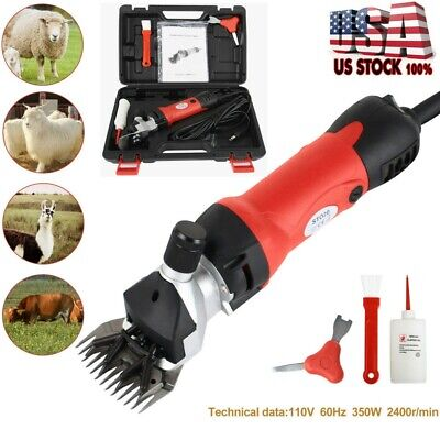 Sheep Goat Shears Clippers Electric Animal Shave Grooming Farm Supplies New