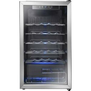 *new* Insignia 3.2 Cu. Ft. 29-Bottle Freestanding Wine Cooler (NS-WC29SS9) - Stainless Steel