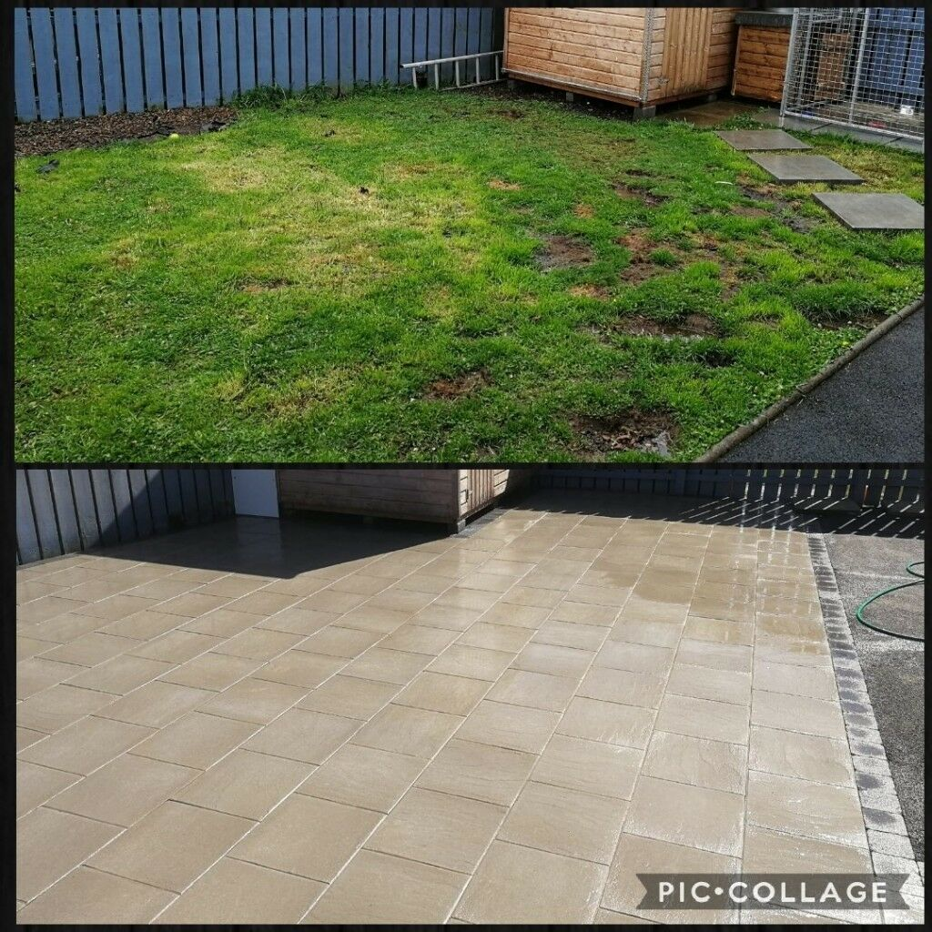 Genial Flagging, Paving, Fencing, Garden Fence/ Gates, Walls And Steps Etc.