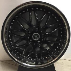MAGS TAKE OFF 18'' 5 X 114.3 NOIR STAINLESS LUXURY
