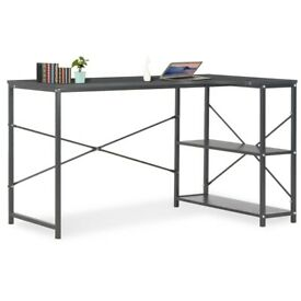 Computer Desk Black 120x72x70 cm-20261