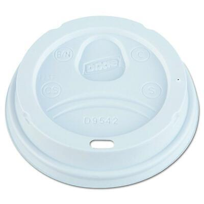 Dixie D9542 Dome Lid for 10-16 oz PerfecTouch Cups, White, 500 Lids.