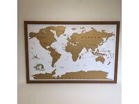 World scratch map