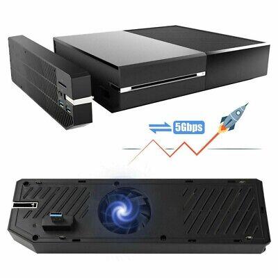USB 3.0 HUB Storage External HDD Adapter Memory Data Bank Enclosure For Xbox One