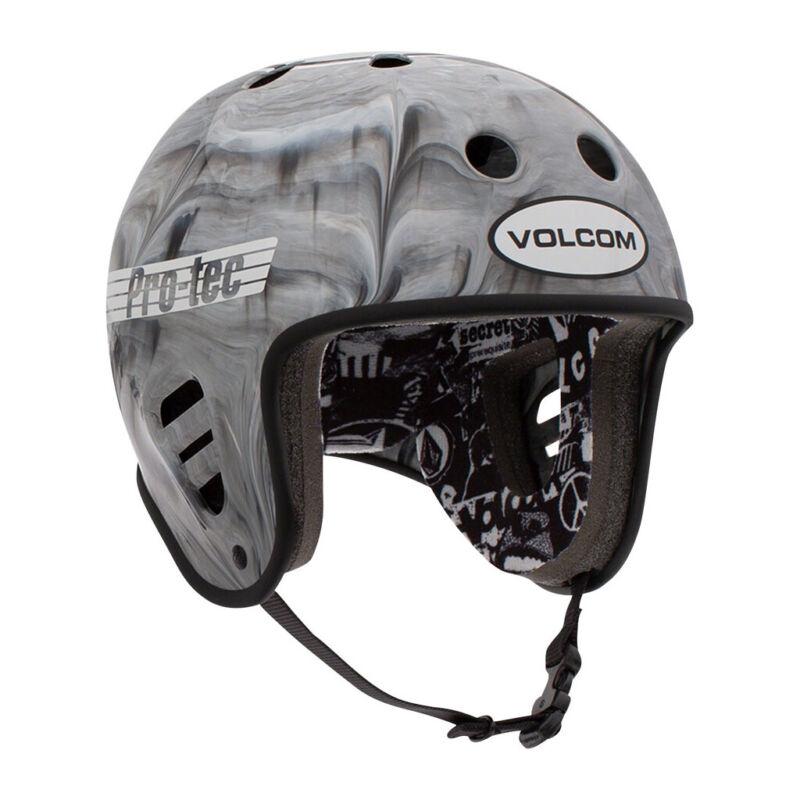 Pro Tec Skateboard Helmet Full Cut Skate Volcom Cosmic Matter