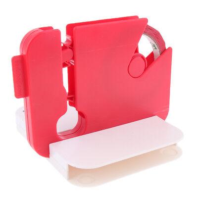 Plastic Film Bag Manual Sealer Sealing Machine w/ Tape for Home Retail Store