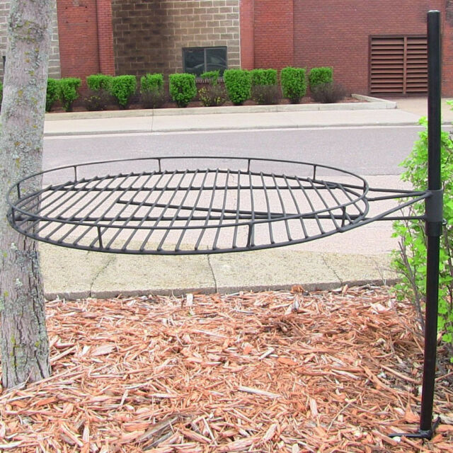 fire pit grate diy adjustable outdoor cooking grill 36 square