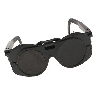 Welding Cutting Welders Safety Goggles Glasses Flip Up Dark Discoloration Lenses