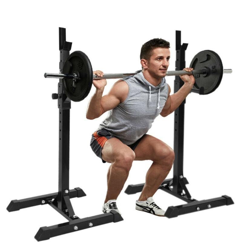 Adjustable Squat Rack Squat Rack Barbell Free Bench Press Po