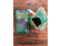 Pettex Orchid Bark Reptile Substrate 10L sealed plus a third of a bag