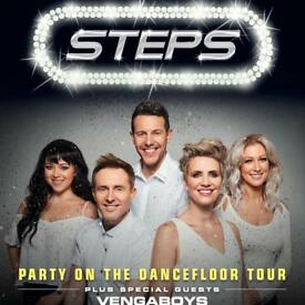 *****SOLD***** 3 x Steps Tickets - Aberdeen Friday 17th Nov