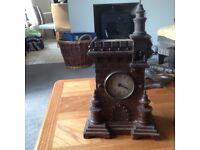 Rare antique turret cuckoo clock