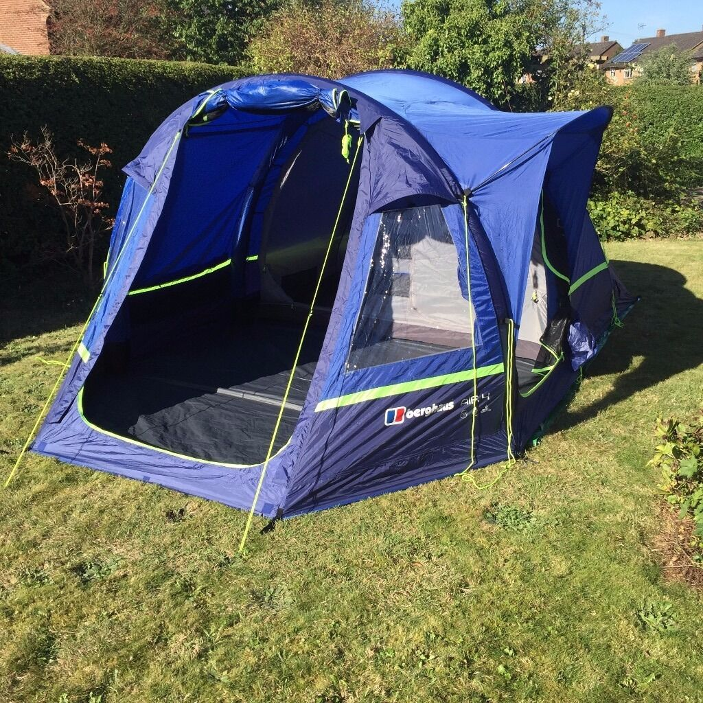 Berghaus Air 4 Inflatable Tent - brand new and unused! & Berghaus Air 4 Inflatable Tent - brand new and unused! | in ...