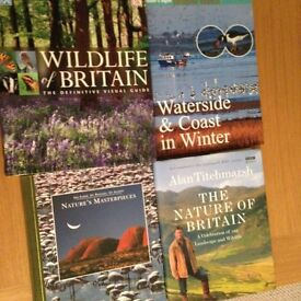 NATURE AND WILDLIFE BOOKS