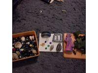 Various fish tank bits and bobs