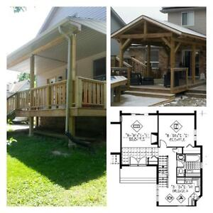 BCIN Building Permit Drawings, New Builds, Additions, Renos London Ontario image 1