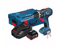 Bosch GSB 18V-LI 18v Cordless Combi Drill + 1 Battery