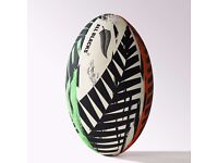 Rugby Ball - All Blacks GR - adidas, Multi Colour, New Zealand Pattern, Size 5