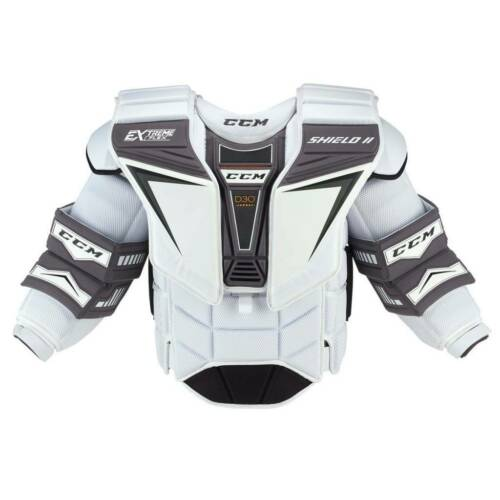 New CCM Pro Stock CHL Extreme Flex Shield 2 Large Pro Goalie Chest Arm senior SR