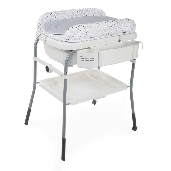 Chicco Cuddle Bubble Badcommode Cool Grey 2ememain Be