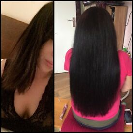 Nano rings/RUSSIAN HAIR EXTENSIONS/Flat Tapes/ Mobile Hair Eextensionist At The Comfort of your home